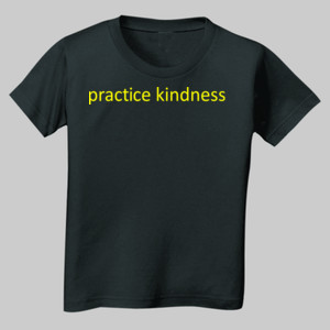 Official Toddler Practice Kindness T-shirt